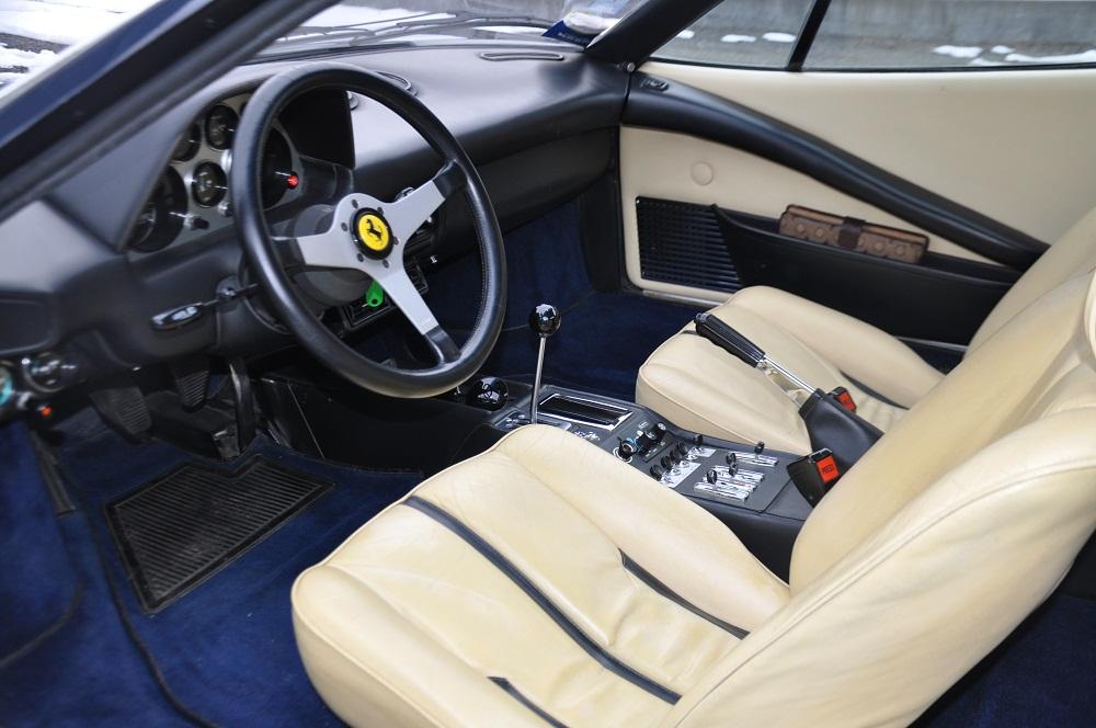 F308 GTB Sitze