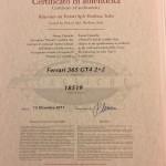 Ferrari 365 GT4 2+2 Classiche Zertifikat